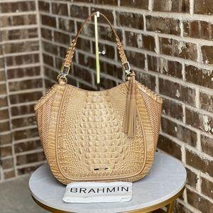 Brahmin Marianna Honeycomb Robbins Tote Bag NWT